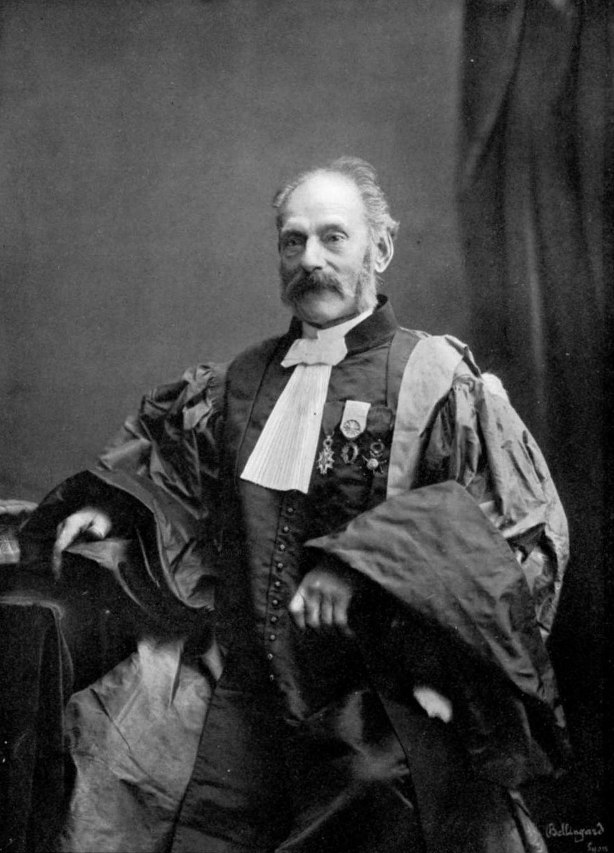 Adrien Lafon, professeur d Astronomie à la Faculté des sciences de Lyon  (puis Doyen), vers 1865. 73f70a510eee